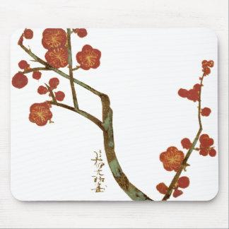 Plum Blossoms, Ogata Kōrin Fine Vintage Mouse Pad