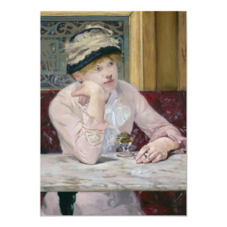 Plum Brandy by Edouard Manet Card