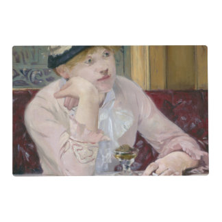 Plum Brandy by Edouard Manet Placemat