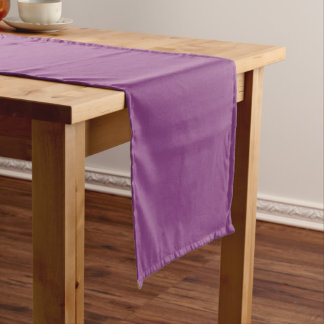 Plum Colored Table Runner