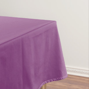 Plum Colored Tablecloth