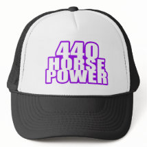 plum crazy 440 mopar trucker hat
