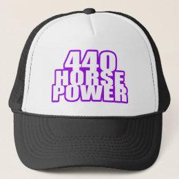 plum crazy 440 mopar trucker hat