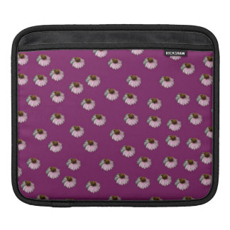 Plum Crazy Daisy Sissy Floral Photo Collage Purple Sleeve For iPads