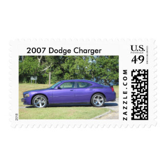 Plum Crazy Dodge Charger Postage