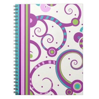 Plum Crazy Notebook