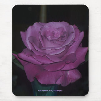 Plum Crazy Rose Mouse Pad