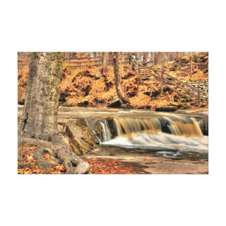 Plum Creek Falls, Olmstead Falls, Ohio Canvas Print