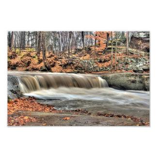 Plum Creek Falls, Olmstead Falls, Ohio Photographic Print
