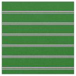 [ Thumbnail: Plum & Dark Green Colored Lines Fabric ]