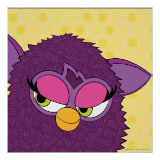 Plum Fairy Furby Poster