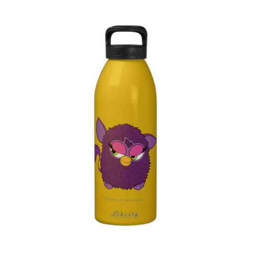 Plum Fairy Furby Reusable Water Bottle