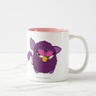 Plum Fairy Furby Two-Tone Coffee Mug