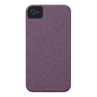 Plum Filigree Blackberry Bold Case