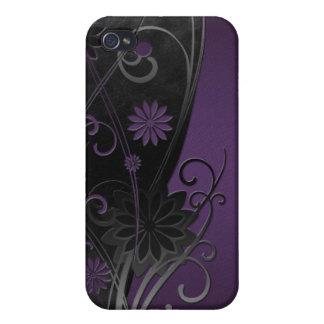Plum Floral iPhone4 Case