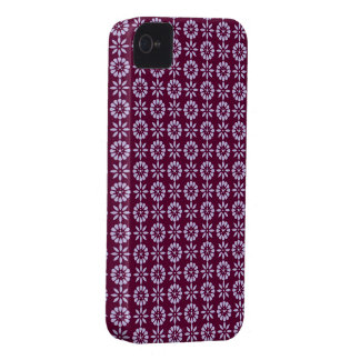 Plum floral print Blackberry case