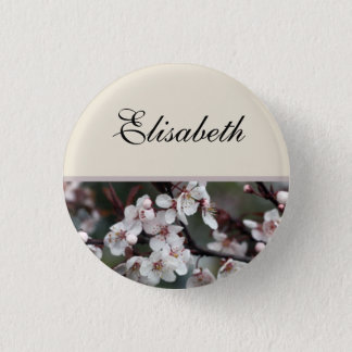 plum flowers name button