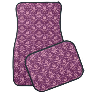 Plum French Country Romance Car Mats
