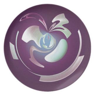 Plum Fruit Plate