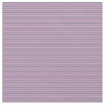 [ Thumbnail: Plum & Gray Colored Lines Pattern Fabric ]
