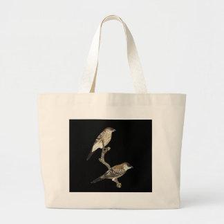 Plum-headed Finch Pair - Neochmia modesta Bags