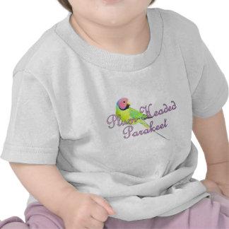 Plum Headed Parakeet Baby Teeshirt Shirts