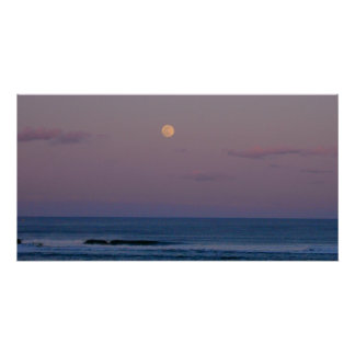 Plum Island Moonrise Poster