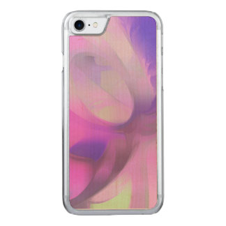 Plum Juices Pastel Abstract Carved iPhone 7 Case