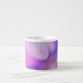 Plum Juices Pastel Abstract Espresso Cup