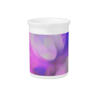 Plum Juices Pastel Abstract Drink Pitchers
