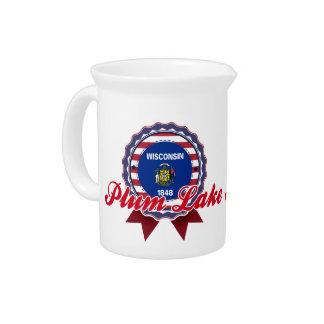 Plum Lake, WI Beverage Pitchers