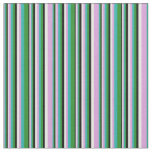 [ Thumbnail: Plum, Light Sea Green, Forest Green, Black & White Fabric ]