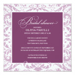 PLUM & LILAC SHOWER | BRIDAL SHOWER INVITE