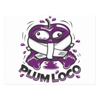 Plum Loco Design Postcard
