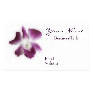 Plum Orchid Business Card