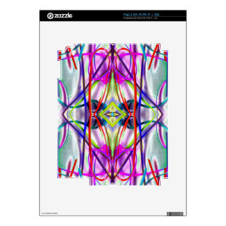 Plum Perfect Bent Lines iPad 2 Skins
