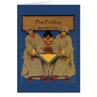 """""""Plum Pudding"""", by Maxfield Parrish Cards"""