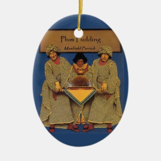 Plum Pudding - Parrish Ceramic Ornament