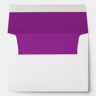 Plum Purple A7 Envelope