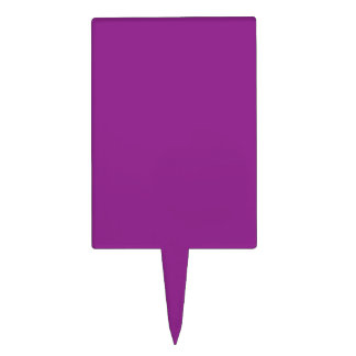Plum Purple Cake Topper