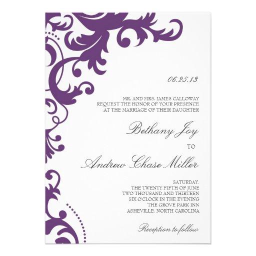 Wedding Invitation Font Combinations as adorable invitation example