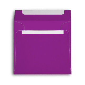 Plum Purple Envelopes