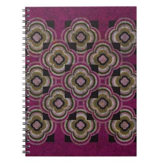 Plum Reflections Notebook