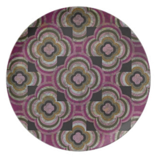Plum Reflections Plate