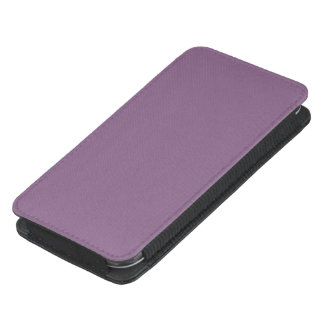 Plum Solid Color Galaxy S4 Pouch