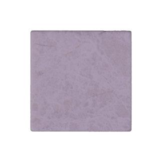 Plum Solid Color Stone Magnet