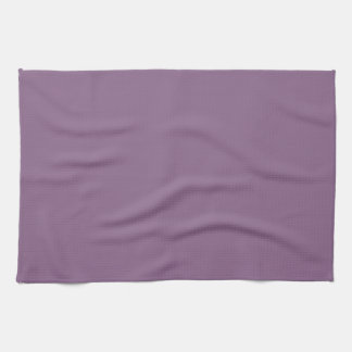 Plum Solid Color Hand Towels