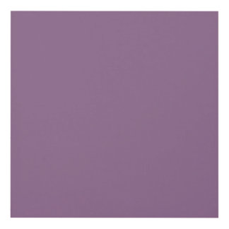Plum Solid Color Panel Wall Art