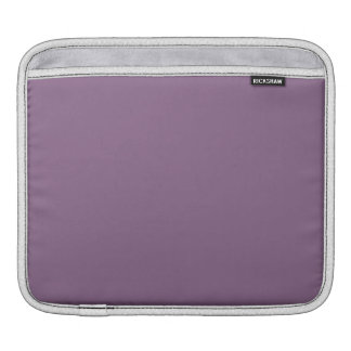 Plum Solid Color Sleeve For iPads