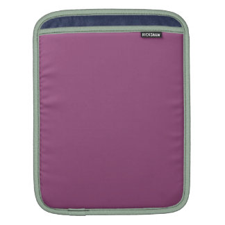 PLUM  (solid purple color) ~ Sleeve For iPads